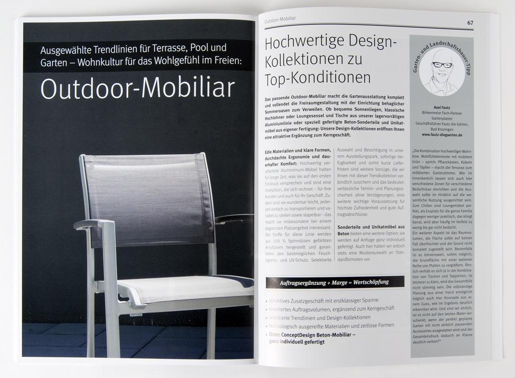 Birkenmeier Stein+design:
